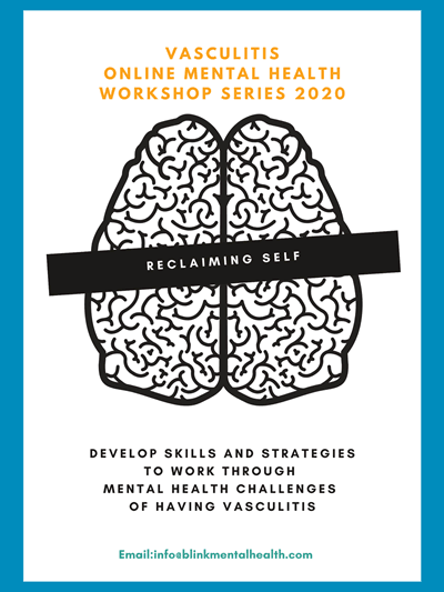 vasculitis workshop series mental health online 2020